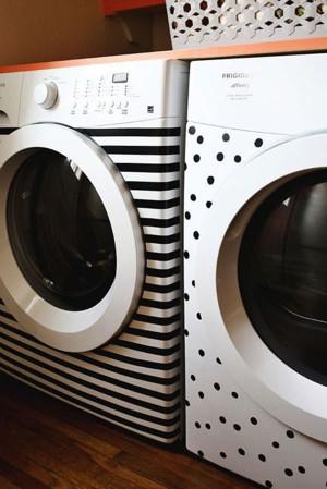 Рисунок на стиральной машине