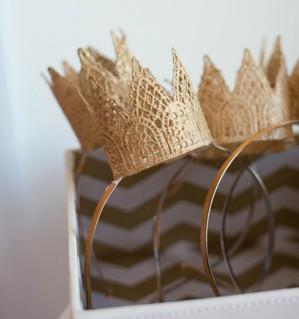 Корона на обруче