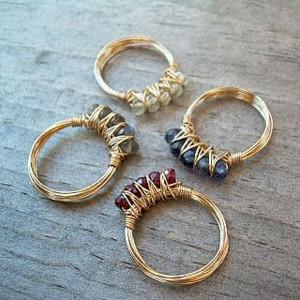 Как сделать своими руками красивое кольцо