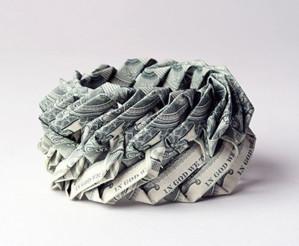 Браслет из денег