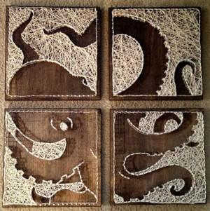 Картина из четырёх фрагментов
