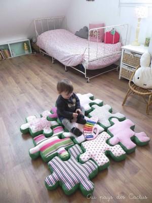 Подушка пазл