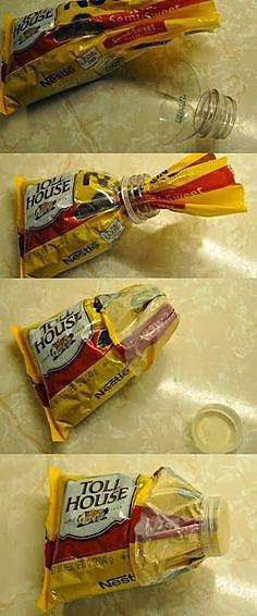 Крышка для крупы в пакете