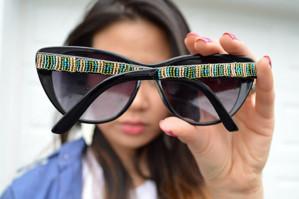 Как украсить очки