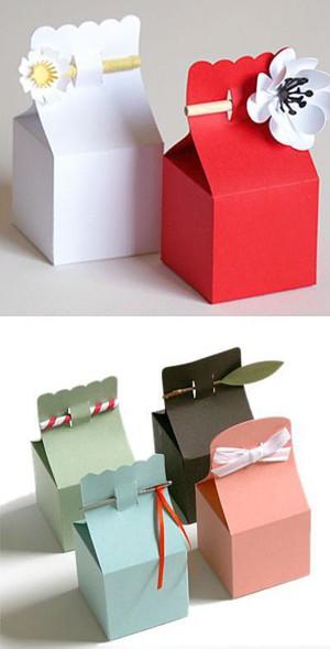 Коробочки подарочные из картона своими руками