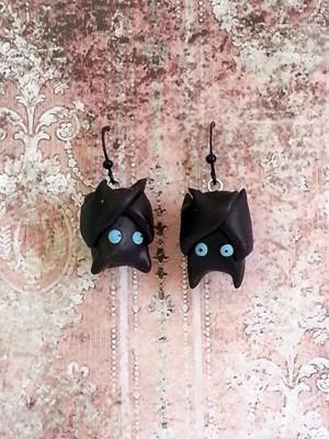 Серьги-летучие мышки