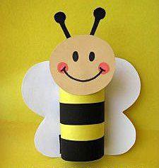 Бумажная пчелка