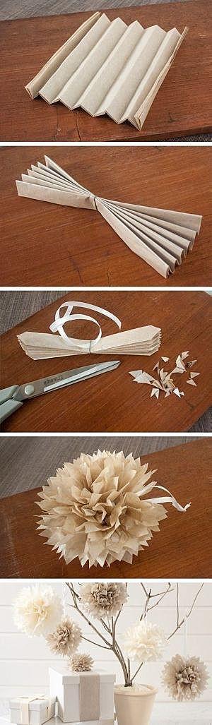Бумажная хризантема