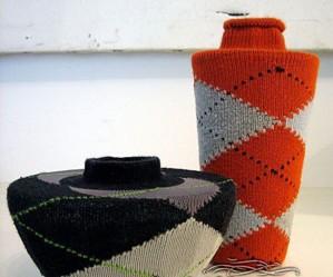Утепленная ваза