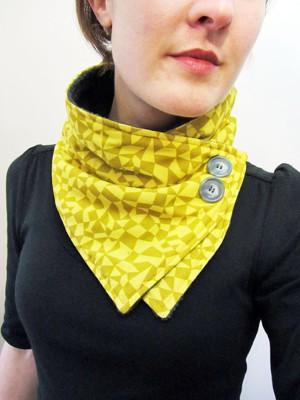 Воротник, альтернатива шарфу