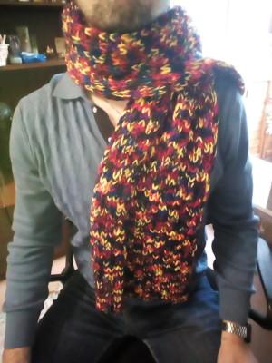 шарф из пр