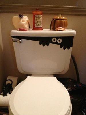 Декор туалетного бачка