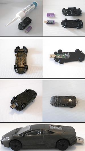 Флешка в форме машины