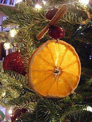 Апельсин на ёлке