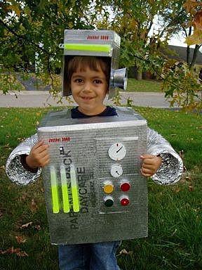 Робот из коробки
