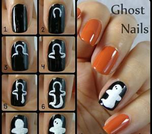 Привидения на ногтях