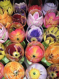 Цветочные бокалы