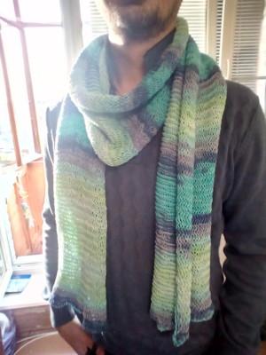 шарф летни