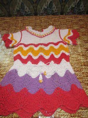 Фото из альбома Вязание для малышей.