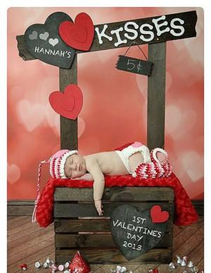 Фотоуголок на день Валентина
