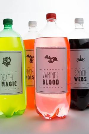 Особые напитки для Хэллоуина