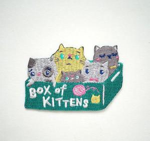 Заплатка с котятами