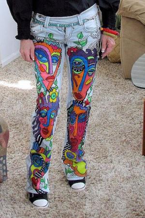 Экстравагантные джинсы