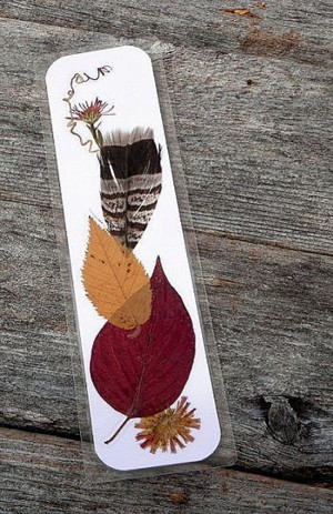 Осенняя закладка