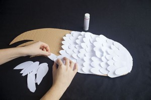 Крыло для птички или ангелочка