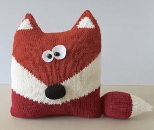 Подушка лисичка