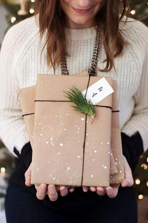 Самодельная упаковка подарка