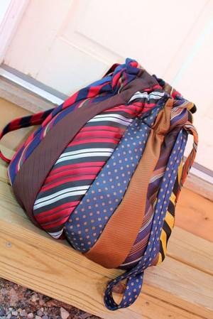 Торба из галстуков