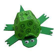 Зеленая черепашка