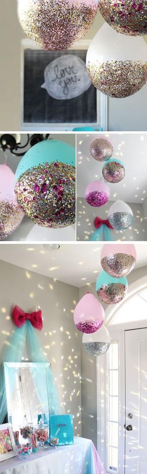 Блестящие шары