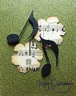 Открытка для музыканта