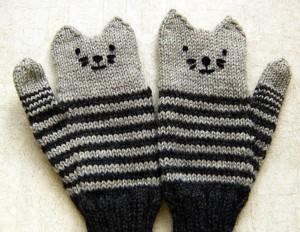 Рукавички-котятки
