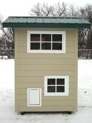 Двухэтажная будка