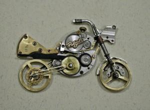 Мотоцикл в стиле стимпанк