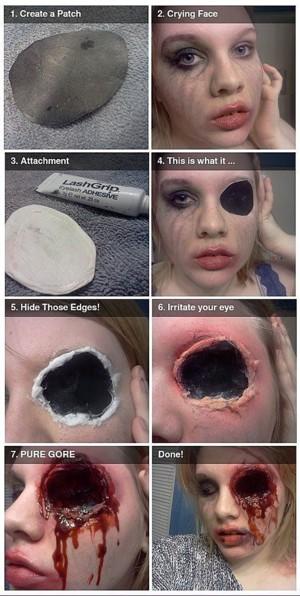 Выбитый глаз