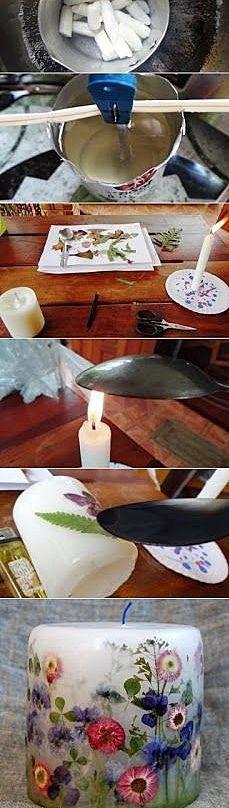 Как делать свечи
