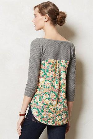 Пуловер после замены низа