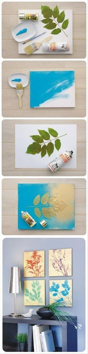 Картины с ростительным мотивом