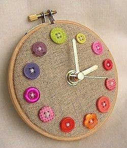 Часы рукодельницы