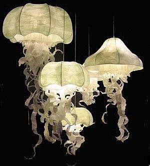 Абажур-медуза