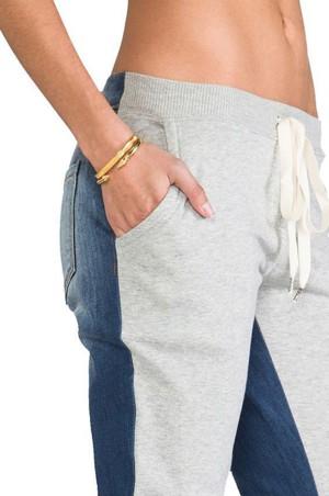 Из джинсовых и спортивных