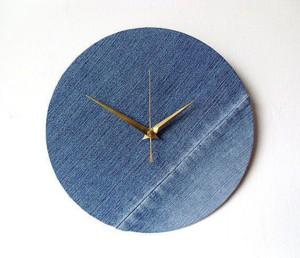 Часы из джинсов