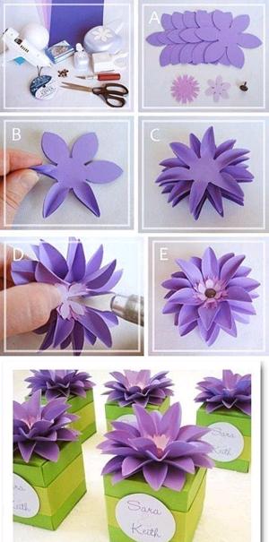 Очаровательный цветок из