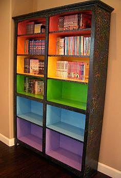 Шкаф цветов радуги