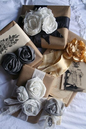 Цветы вместо бантов