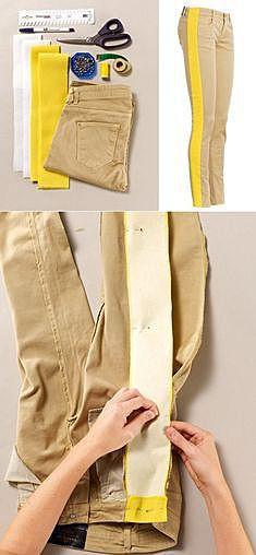 Делаем брюки шире